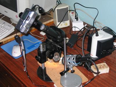 Самодельная камера для микроскопа